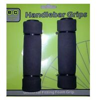 NEW HANDLEBAR GRIPS UNIVERSAL FITTING FOAM GRIP FOR CYCLE, CYCLING PAIR