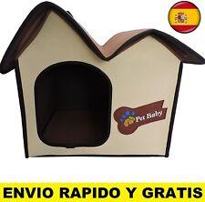 Cama para perros gatos casa mascotas medidas DE 53 X 46 X 46cm portatil