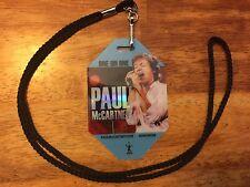 PAUL McCARTNEY ONE ONE ONE 2017 TOUR VIP Lanyard NEW MINT BEATLES