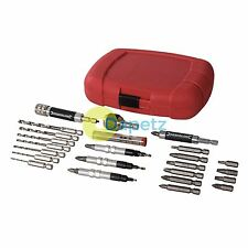 "Quick-Flip Drilling, Countersink & Driving Set 30Pce6.35mm - 1/4"" Hex Drive"