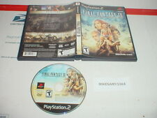 FINAL FANTASY XII game in case for Playstation 2 PS2