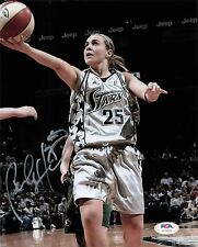 Becky Hammon signed 8x10 photo PSA/DNA San Antonio Spurs Autographed
