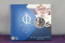 2012 The Queen's Diamond Jubilee Celebrating Her 60Year Reign 5 Pound Coin