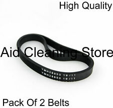 Two Strong Belts for Hoover Blaze TH71BL01001 Vacuum Cleaner drive belt bands 02