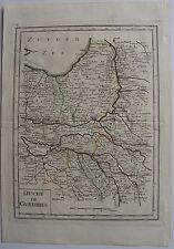 DUCHÉ DE GUELDRES. Par Le Rouge. carte originale de (1748). Dimensions de la feu