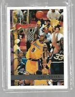 Kobe Bryant 1997-98 Topps--2nd Year--Qty.--Lakers