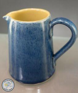 VINTAGE BOURNE DENBY 1/2 PINT COTTAGE BLUE JUG PITCHER