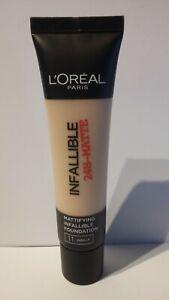 Fond De Teint Infaillible 24H Mat 11 Vanille L'Oréal