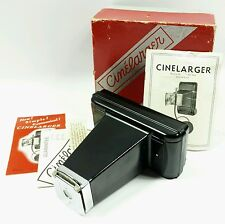 Vintage Cinelarger with Original Box and Papers 8mm to 120 (620) film converter
