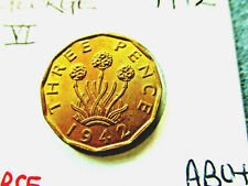 More details for george vi  brass threepence for 1942