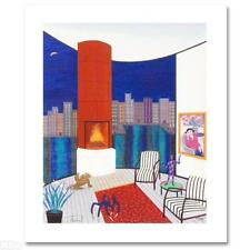 """Franch Ledan """"Interior With Brazilin"""" Limited Edition Signed Giclee. COA. New"""