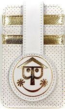 Disney Parks It's a Small World Clock Credit Card Holder ID Wallet Case - NEW