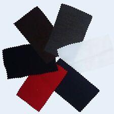 Ribbed Bengaline Stretch Dress Fabric  - Various Colours (Per Metre)