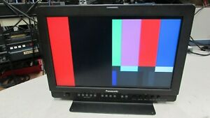"""Panasonic BT-LH1700W 17"""" Widescreen LCD Monitor (picture does not fill screen)"""