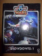 Babylon 5 Wars 2nd Edition Showdowns 1 PB GD - Agents of Gaming 1999 DA45