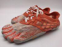 $85 Vibram Fivefingers Seeya Women's Barefoot Running Shoes Size 37, 6.5 Orange