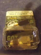 Top Quality Brass MACCOUPLER EZ Fill Propane Coupler Made In USA Solid Brass