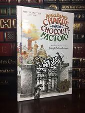 Charlie and the Chocolate Factory New Illustrated Hardcover Collector's 50th Ann