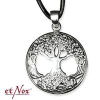 Echt etNox Keltischer Lebensbaum Anhänger 925er Silber Symbol Schmuck - NEU