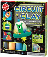 CIRCUIT CLAY - THE EASIEST WAY TO LEARN ABOUT ELECTRICITY KLUTZ ACTIVITY KIT