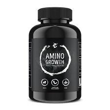 AMINO GROWTH HOCHDOSIERT - Aminosäuren + Maca - Muskelaufbau Testosteron Booster