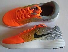 Nike Lunarstelos Trainers UK: 4.5 EUR: 37.5 Total Orange/Silver BNIB 844969-800