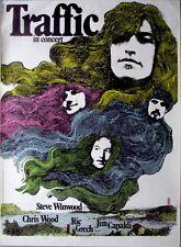 TRAFFIC - 1972 - Tourplakat - Kieser - In Concert - Tourposter