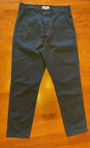 J.Crew Wallace & Barnes Men's Utility Camp Pant in Midnight Navy - Size 31x30