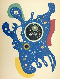Wassily Kandinsky, Stars, Hand Signed Lithograph