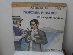 STORIA DI CAMORRA E ONORE 12 SCENEGGIATE NAPOLETANE lp musica Napoli