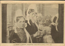 29 LOCTUDY LA MESSE IMAGE REPRODUCTION TABLEAU ELISABETH SONREL 1920