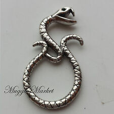 Silver Horcrux voldemort Death eater snake ring Ron hermione snape. Nagini