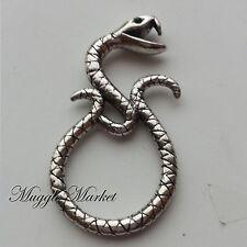 Silver Horcrux voldemort Death eater snake ring hermione snape. Nagini slytherin