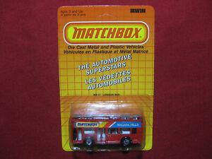 Matchbox 1986 Leyland Titan London Bus Niagara Falls Promo Rare Canada MB-17 MOC