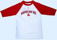 BOSTON RED SOX LONGSLEEVE RINGER Tee BOYS MEDIUM NWT