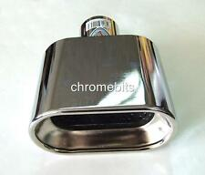 UNIVERSAL CHROME EXHAUST PIPE TIP TRIM  code C-366A FOR CARS AUTO