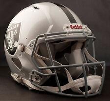 OAKLAND RAIDERS Riddell Revolution SPEED NFL Football Helmet