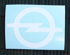adesivo logo Opel auto car vinile vinyl sticker decal Astra Corsa Vectra Omega