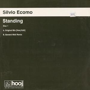 "Silvio Ecomo - Standing Disc One 12"" VG+ HOOJ098 UK Breaks Vinyl 2000 Record"
