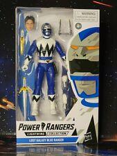 """New listing Power Rangers Lightning Collection Lost Galaxy Blue Ranger 6"""" Action Figure. New"""