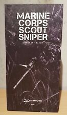 Damtoys Marine Corps Scout Sniper 93018 2014 Sergeant Major 1/6 Scale Action Fig