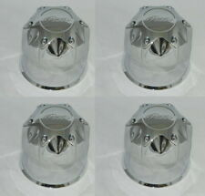 "4 CAP DEAL PACER 89-8125HM CHROME WHEEL RIM CENTER CAPS FITS 4.25"" DIA BORE"