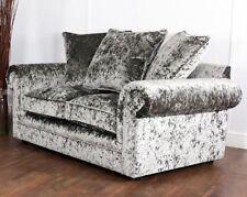 crushed velvet sofas for sale ebay rh ebay co uk