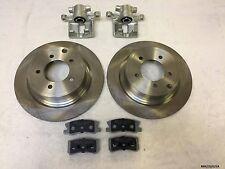 2xRear Brake Caliper, Discs & Pads Avenger 07-14/Sebring 07-10 302MM BRK/JS/025A