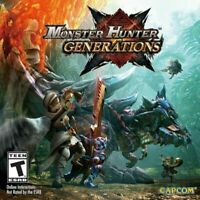 Monster Hunter Generations (3DS, 2016) - Brand New, Factory Sealed