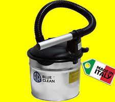 Bidone Aspiracenere 800W 15lt con filtro camini stufa a pellet cenere ECO 15