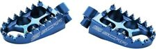 Scar Racing S1511B Evolution Racing Footpegs Blue