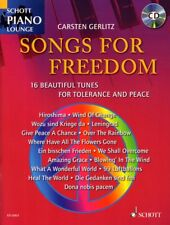 Schott Piano Lounge Songs for Freedom Klavier Noten mit CD Carsten Gerlitz