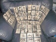 THE BEATLES GUM TRADING CARDS A & B C COMPLETE SET 1st SERIES 1- 60 SLEEVED 1963