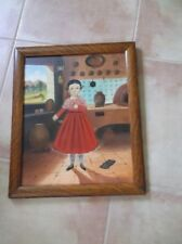 MEXICAN LILIA CARRILLO ORIGINAL PAINTING